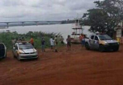 Corpo de jovem é encontrado boiando no rio Tocantins em Porto Nacional