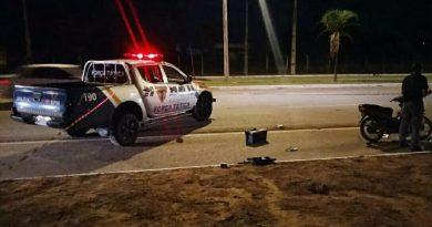 Suspeito de roubo é baleado pela PM após furar bloqueio na ponte FHC em Palmas